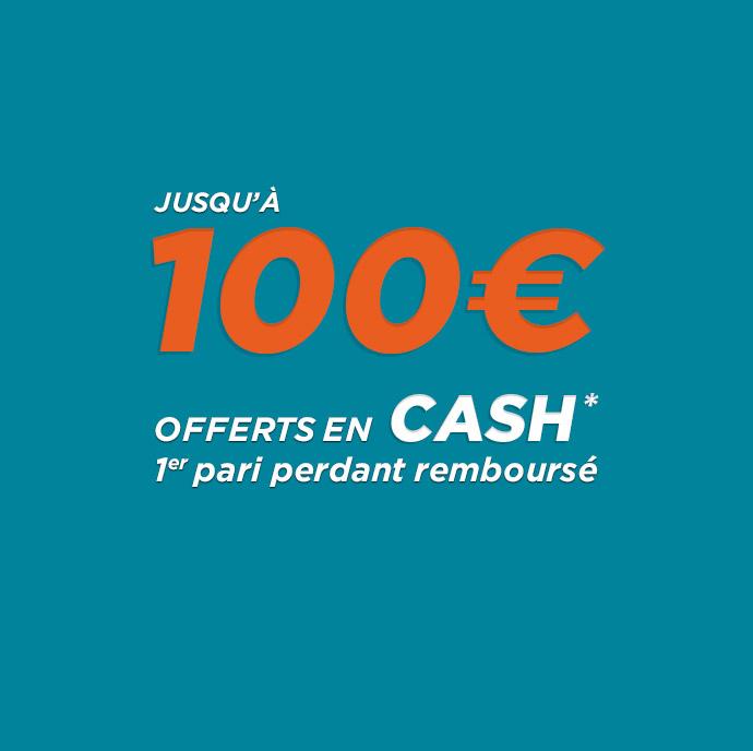 du 22 aout au 4 janvier 2018 jusqu'à 100€ offerts